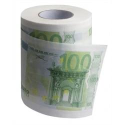 Rouleau papier toilette 100 €