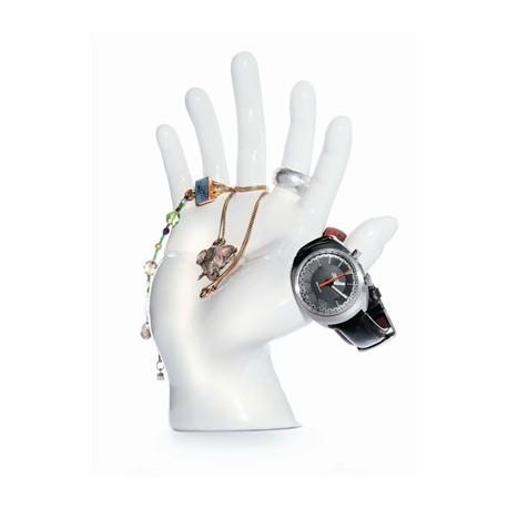 Main porte bijoux bagues et bracelets