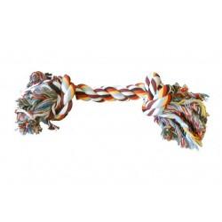 Jouet pour chien corde avec deux noeuds