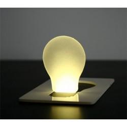 Lampe de poche plate ampoule