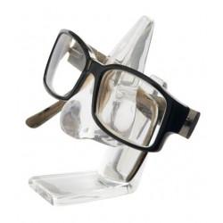 Support porte lunettes nez