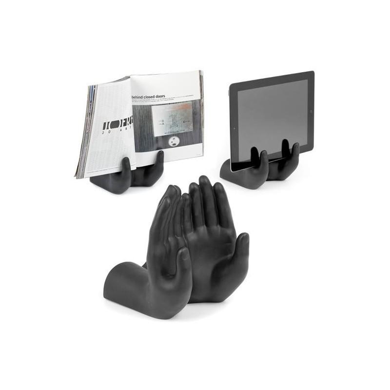 Support main pour tablette et ipad art collection for Support tablette tactile cuisine