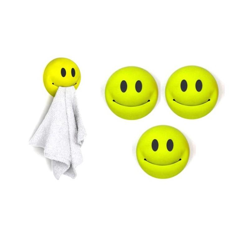 Porte torchons smiley vendu par 3 - Torchons de cuisine originaux ...