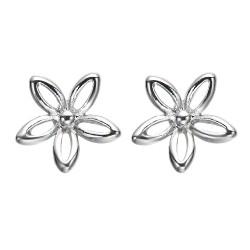 Boucles d'oreilles fantaisie fleur