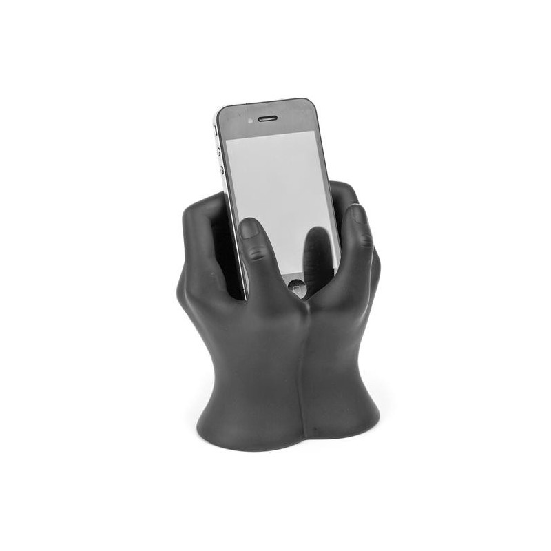 Support t l phone portable iphone mains art collection for Support telephone portable