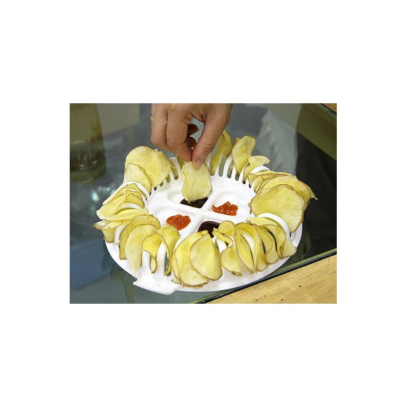 Set chips appareil chips di t tique xl micro ondes for Chips betterave micro onde