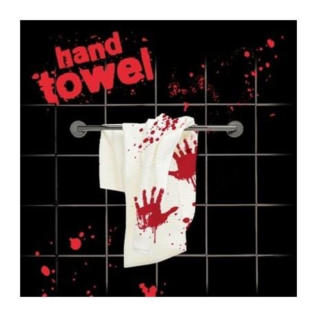 Serviette de toilette meurtre