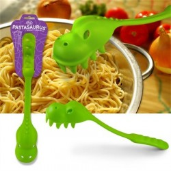 Pastasaurus couvert à spaghetti