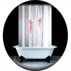 Rideau de douche sanglant Psychose