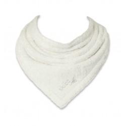 Bavoir bandana bio Skibz vanille