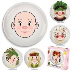 Assiette clown à décorer MissFood Face