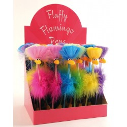 Stylos Fluffy Flamingo