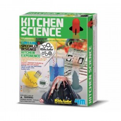 Kit kitchen science 6 expériences