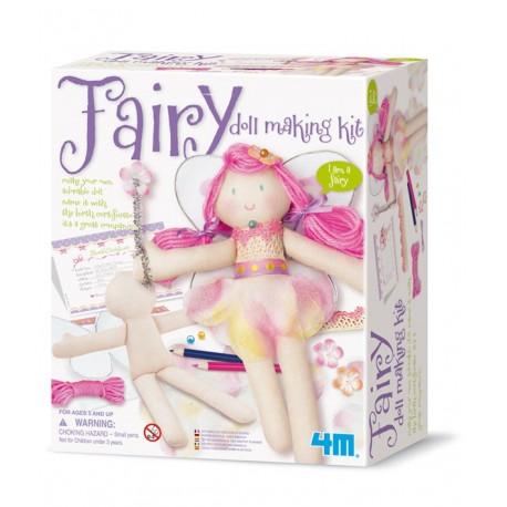 Kit poupée fée à fabriquer