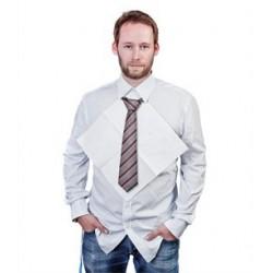 Serviette en papier cravate