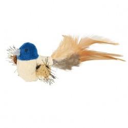 Oiseau peluche avec catnip jouet pour chat