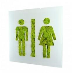 Tableau picto végétal homme femme