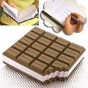 Bloc note parfum chocolat