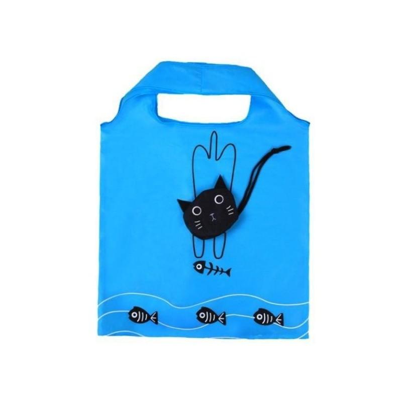 sac de course pliable chien chat funstuff et compagnie. Black Bedroom Furniture Sets. Home Design Ideas