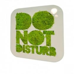Tableau picto végétal Do not disturb